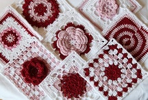 Afghan Blocks and Motifs / Knit & crochet, but mostly just crochet stuff / by Trixie Vallient