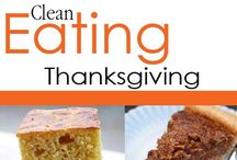 Clean Eating Thanksgiving Recipes / Enjoy the whole dinner without the guilt or added pounds! / by The Gracious Pantry