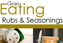 Clean Eating Seasoning Recipes / Add healthy flavor to any meal with these rubs and seasoning blends. / by The Gracious Pantry (Tiffany McCauley)