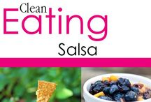 Clean Eating Salsa Recipes / Clean eating salsa recipes. Salsa never looked so good! / by The Gracious Pantry (Tiffany McCauley)
