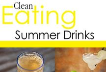 Clean Eating Summer Drink Recipes / Nothing says summer time like a nice cool drink. / by The Gracious Pantry (Tiffany McCauley)