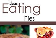 Clean Eating Pie Recipes / Who says pie has to be unhealthy? / by The Gracious Pantry (Tiffany McCauley)