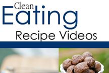 Clean Eating Cooking Videos / Clean eating youtube recipes. / by The Gracious Pantry (Tiffany McCauley)