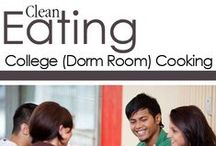 Clean Eating Dorm Room Cooking / Healthy, clean eating recipes for college students! / by The Gracious Pantry