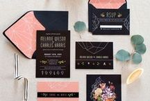 Wedding Stationery / by Michelle Barrionuevo-Mazzini