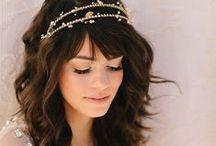 Bridal Hair + Accessories / by Michelle Barrionuevo-Mazzini