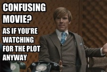 If anyone asks, I'm watching for the plot. / by Alysa Revell
