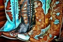 Kicking Up My Heels / Awesome cowgirl boots / by Donna Reynolds
