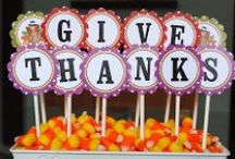 Giving Thanks / Thanksgiving Decor Ideas  / by Maracay Homes