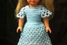 dolls and their clothes / by Brenda Johnson