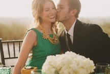 Emerald Wedding / Pantone's 2013 Color of the Year is Emerald. In honor of the trendy jewel tone, we have collected a variety of ideas and inspiration for your emerald green wedding.  / by Vistaprint