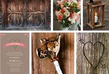 Rustic Wedding Ideas / The rustic chic wedding trend is all about incorporating the beauty of nature into your special day. This type of wedding would not be complete without ample mason jars and flowers wrapped with burlap! Here is some inspiration for your rustic chic wedding. / by Vistaprint
