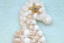 *Beach Crafts /  I only put 150 pins in each board, so if you want to follow a certain category, you might want to see if I have more boards for that item. I do this because when I look for things in my boards it won't show them all. / by Terri Beaverson