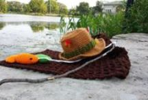Crochet/knit hats / by Martha Cordero