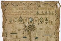 Embroidery / Samplers / by Sew 18th Century