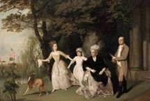 18th Century Paintings / by Sew 18th Century