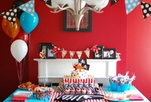 Pirate Party / Boys pirate birthday party or baby shower ideas and inspiration! / by Bee and Daisy Party Studio