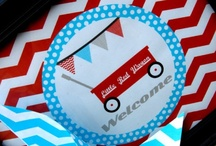 Little Red Wagon Party / by Bee and Daisy Party Studio