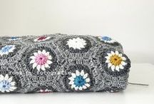 Crochet Blankets and pillows / by Kirsten