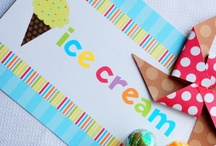 Ice Cream Party / by Bee and Daisy Party Studio