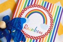 Rainbow Party / by Bee and Daisy Party Studio