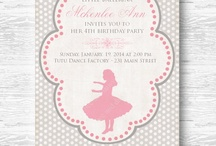 Ballerina Party / by Bee and Daisy Party Studio