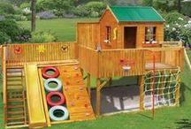Backyard Playhouse Idea's / by Shauna | The Best Blog Recipes