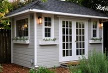 Backyard Shed's / by Shauna | The Best Blog Recipes