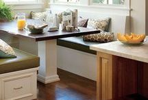 breakfast nook or dining room / by Amanda Wardwell