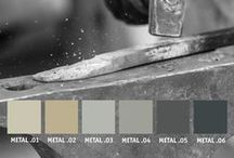 YOLO Colorhouse METAL Color Family / Part of The Handcrafter Color Collection, the METAL color family is group of cool, steel-colored neutrals designed for a modern aesthetic. / by Colorhouse Paint
