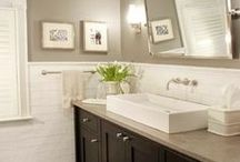 The Farmhouse // Bathrooms / by Magpie Paper Works