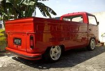 Dub Truckn! / Split Screen, Baywindow, Air-cooled, Water-cooled, Single-Cab, Double-Cab.. Whatever! / by Uwi Mathovani