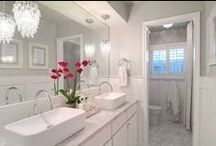 Beautiful Bathrooms / Gorgeous Bathroom Spaces and Decor Ideas / by House on the Way - Home Decor & Design Blog