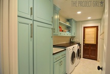 Laundry & Mud Rooms / Great Functional Laundry and Mud Rooms. / by House on the Way - Home Decor & Design Blog