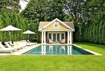 Porches, Patios And Pools / Favorite porches, outdoor spaces, patios and pools / by House on the Way - Home Decor & Design Blog