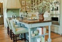 Kick'in Kitchens / Beautiful Kitchens, Tables, Dishes and Kitchen Accessories / by House on the Way - Home Decor & Design Blog