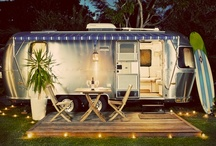 Camping, Tent's & Vintage Travel / For the love of sleeping in the fresh air and watching shooting stars. / by Debi Hamilton