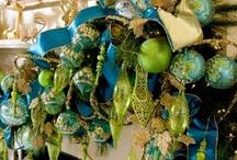 Christmas Blue & Green / by Debi Hamilton