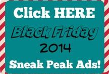 {2014} Black Friday Ads / All the 2014 Black Friday Ads to help you save!  Get ALL the BEST Black Friday 2014 full ads in one place with an easy to use printable list! / by The Coupon Challenge, LLC