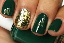 Beauty Board / Whether you're headed out on the town or to a USF game, get inspired by these green and gold hair, makeup, and nail ideas! Have your own beauty ideas for USF fans? Email us a picture and instructions at social@usf.edu! / by University of South Florida