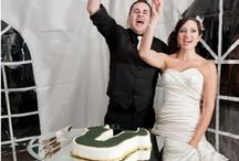 A Very USF Wedding / Bulls marrying Bulls! From green and gold affairs to Rocky cake toppers, check out our favorite USF-themed weddings and engagements. / by University of South Florida