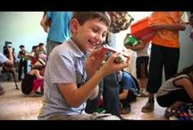 """30-second """"Cup of Joy"""" videos!! / Watch these videos that show the joy a shoe box gift can bring a child. / by Operation Christmas Child"""