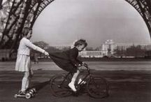Vintage Childhood Photos in Black and White, Sepia / Childhood from the past / by Eva Castro