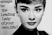 A1. Audrey Hepburn / Dedicated to the most glamourous actress of all time! / by Charles Mann