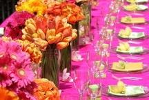 table top - table cloth ideas / by Brenda Harrison