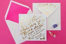 Invite Ideas / Invitation design ideas. / by Megan Sullivan
