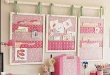 Decorating - Office, Craft Room, Sewing Room, Quilt Room Inspiration & Organization / by Nanette Johnson