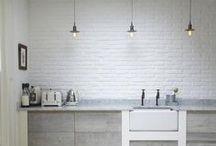 KITCHENS-キッチン & DINING-ROOMS-ダイニングルーム / by Nicoletta Cappelletti