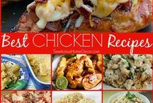 Chicken Meals and Recipes / The best delicious meals made with chicken.  / by SewLicious Home Decor