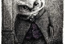 Owl's / by Drea